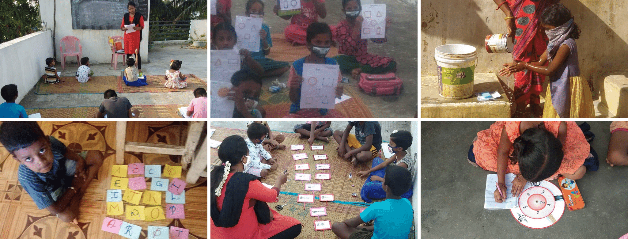 Asha Chennai - Mini Schools during lockdown