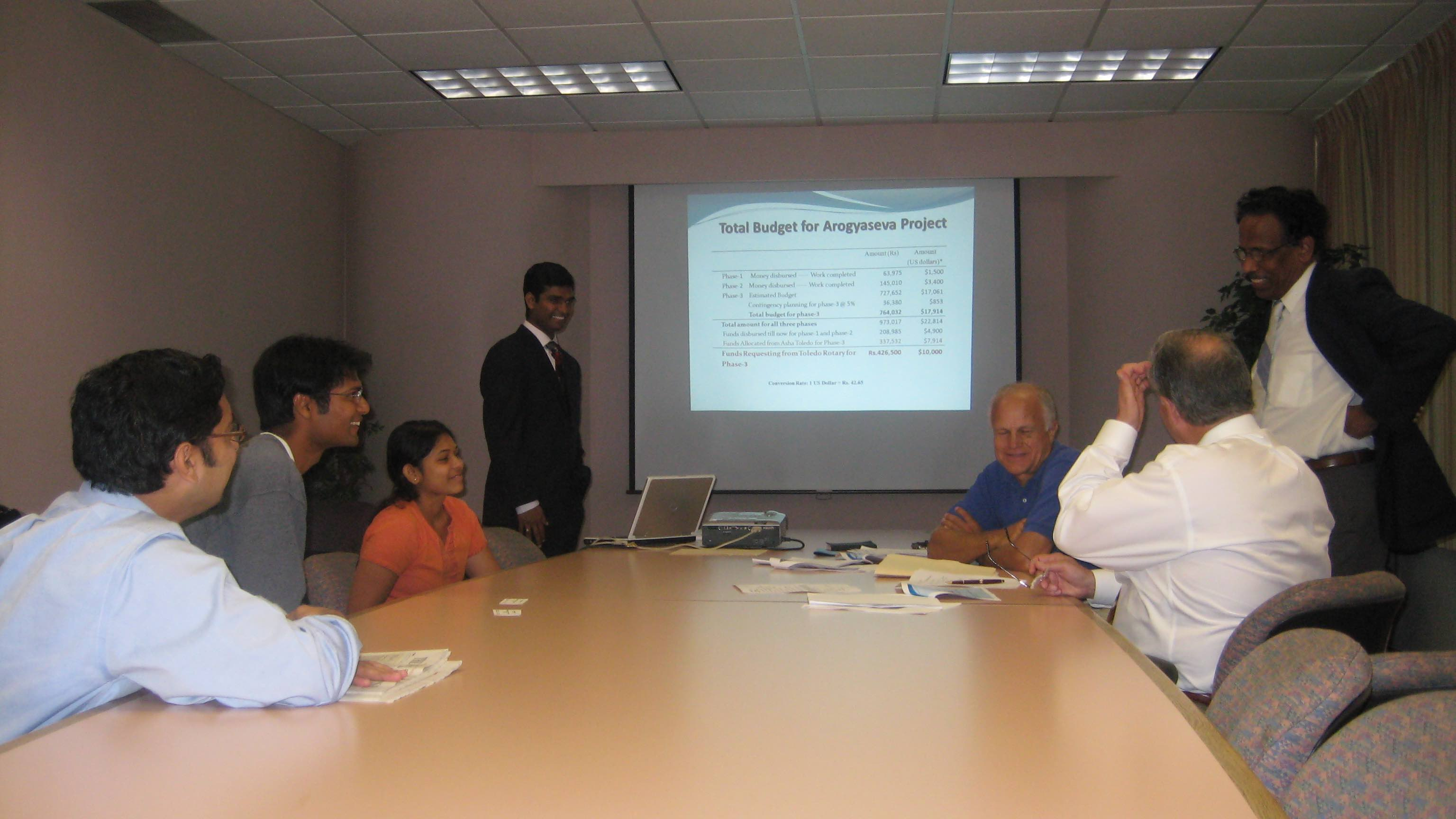 Rotary Presentation